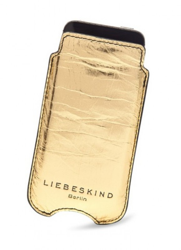 Liebeskind iPhone 5 Hülle Metall Gold