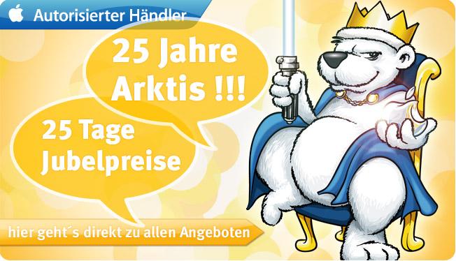 25 Jahr im Geschäft: arktis.de