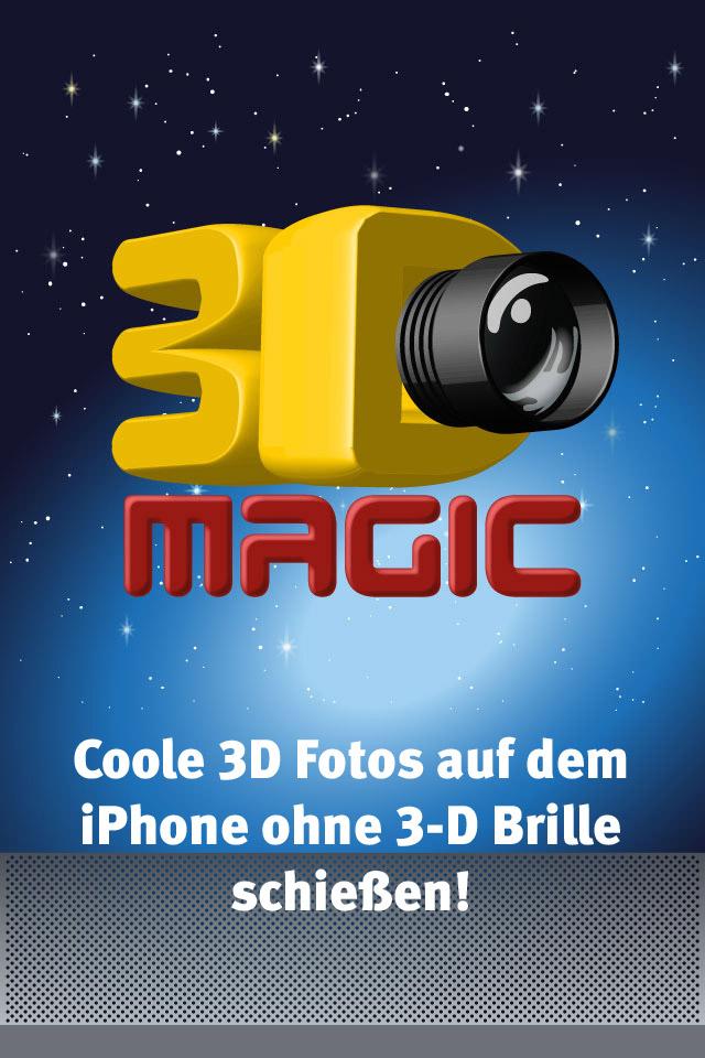 Mit 3D Magic ohne Brille könnt Ihr eigene 3D Fotos auf dem iPhone schießen.