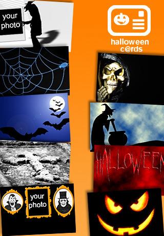 SMS war gestern - versende gruselige Halloween Cards