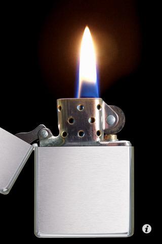 Virtual Zippo - Das Kultfeuerzeug als iPhone App