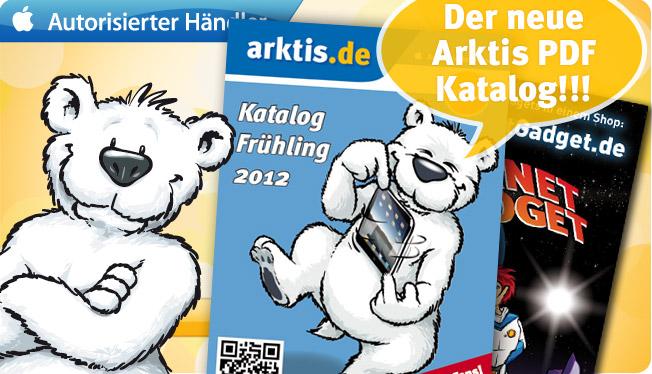 Randvoll mit Apple Zubehör, der neue Arktis Katalog Frühling 2012 ist da!
