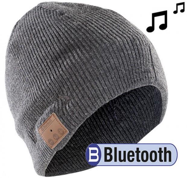 Die Bluetooth Sportmütze ist der ideale Begleiter, wenn man bei diesen kalten Temperaturen außer Haus muss!