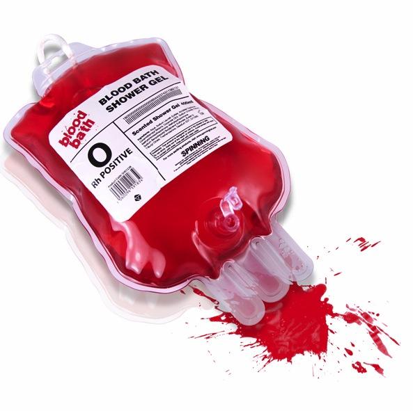 Makaber: Das Blood Bath Shower Gel