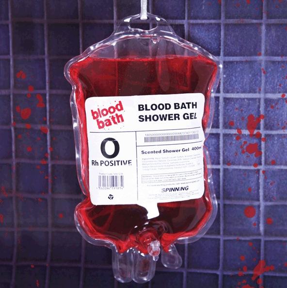 Gruselspaß für die Dusche: Das Blood Bath Shower Gel