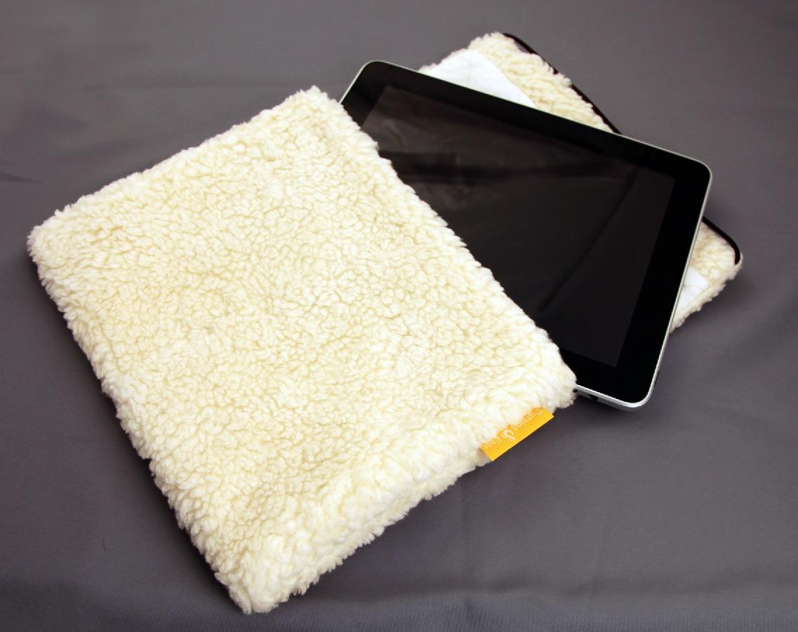 Arktis iPad Hülle - Eisbärfell