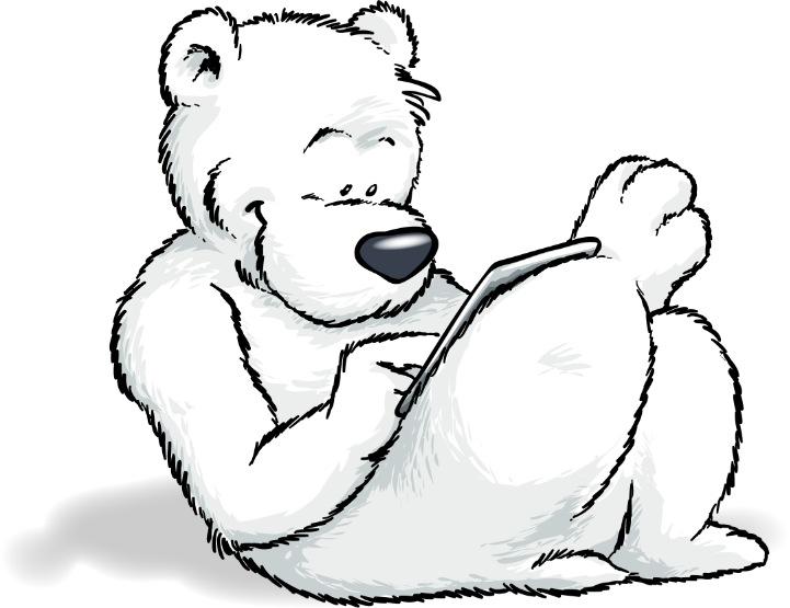 Bücher und iPad kopfüberlesen entspannt Linkshänder!
