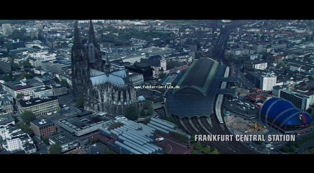 Im A-Team Film steht der Kölner Dom jetzt in Frankfurt...tsss tsss
