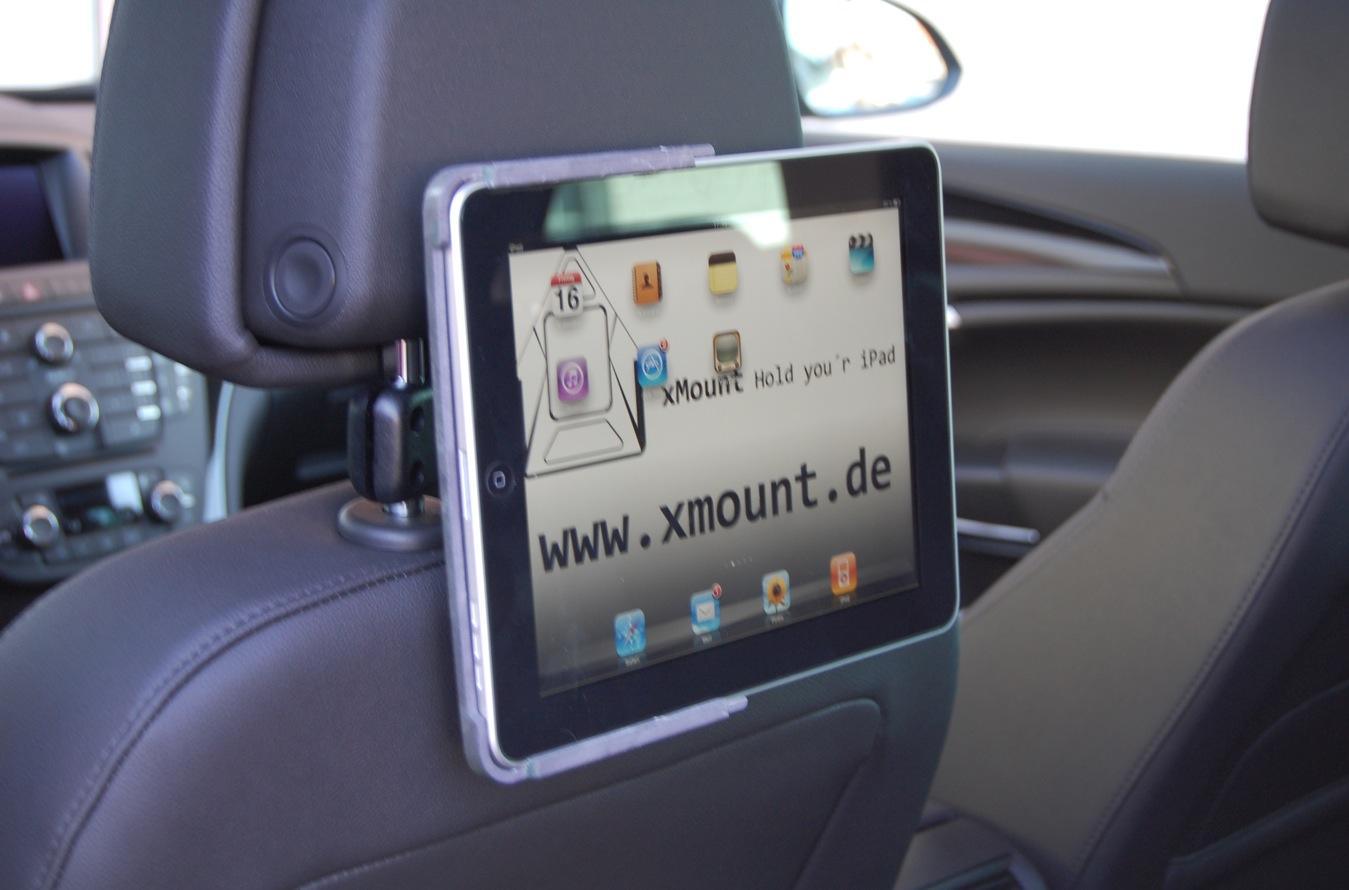 xMount iPad Halter für KFZ Kopfstützen