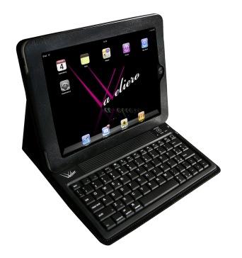 VaVeliero iPad Tasche inkl. eingebauter Tastatur