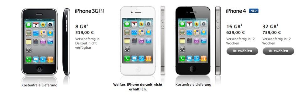 Apple verkauft ab heute das iPhone selbst!