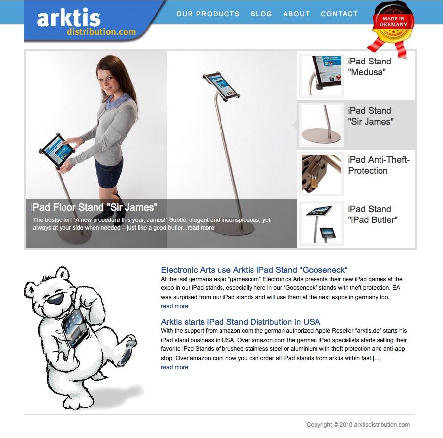 www.arktisdistribution.com