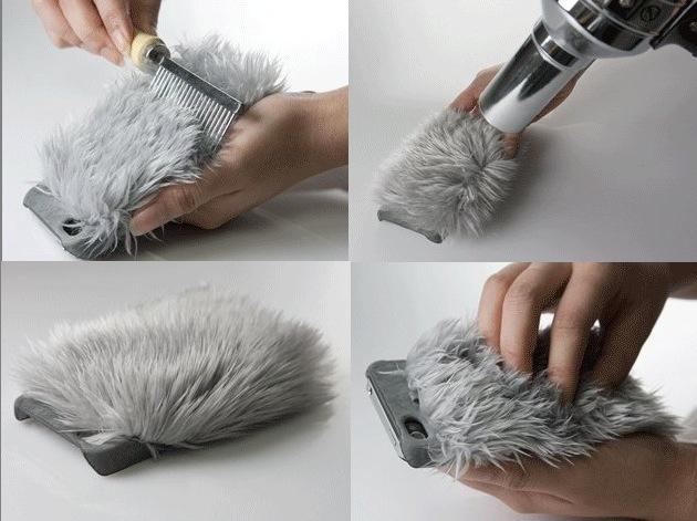 Die frisierbare iPhone 4 Hülle