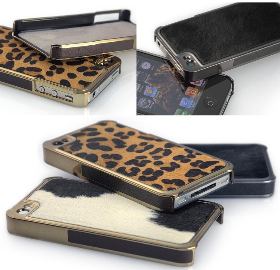 iPhone 4 Hüllen im Safarilook: Nomadic gripcase for iPhone 4