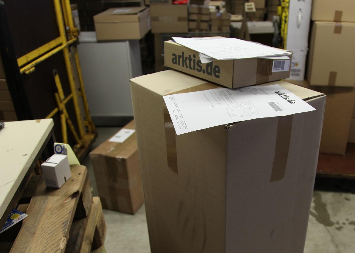 Unser Paket an Steve Jobs