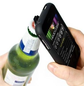 Eine App zählt dann gleich die geöffneten Flaschen mit...
