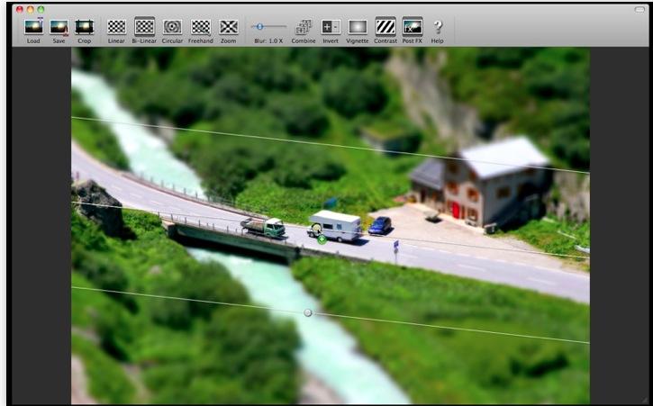 Tilt Shift Focus zaubert Miniaturwelten