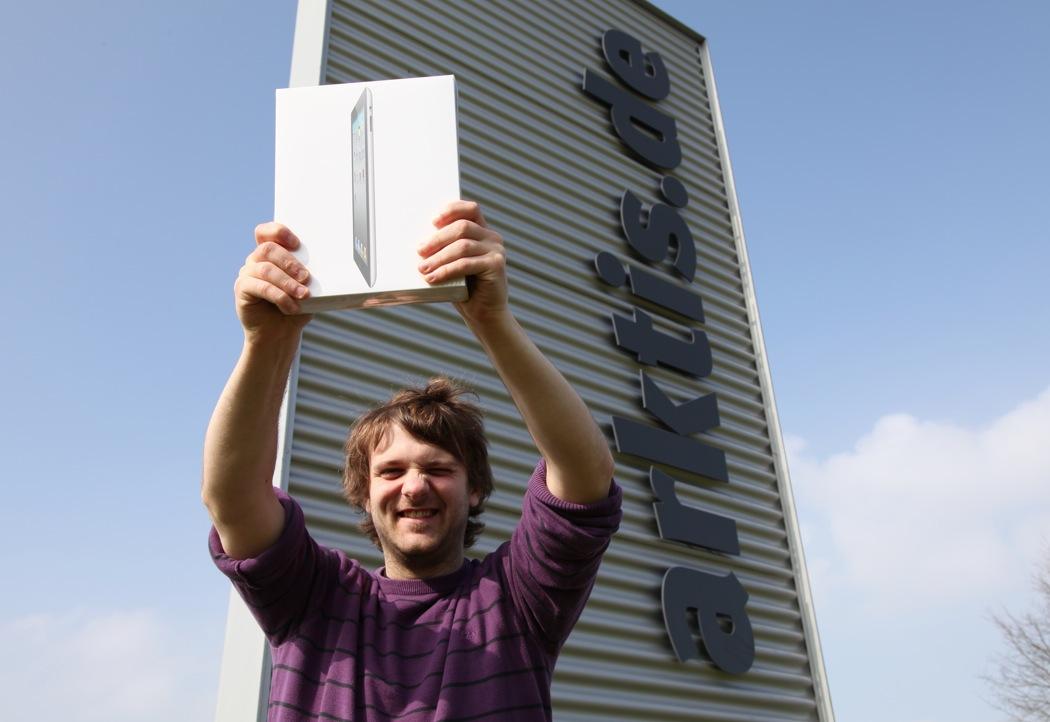 Hurra, das iPad 2 ist bei arktis.de angekommen!