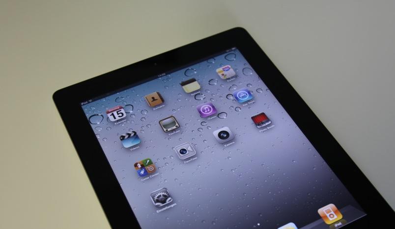 Das iPad 2 Display ist wesentlich schärfer und brillanter als das vom iPad 1.