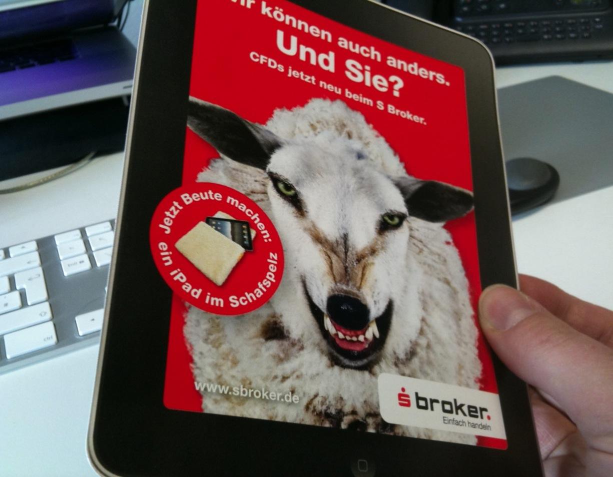 SBroker Gewinnspiel mit arktis.de Fellhülle