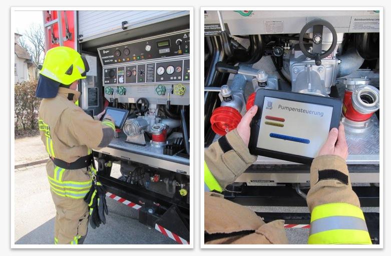Pilotprojekt der Freiwilligen Feuerwehr Pinneerg in Kooperation mit Apple
