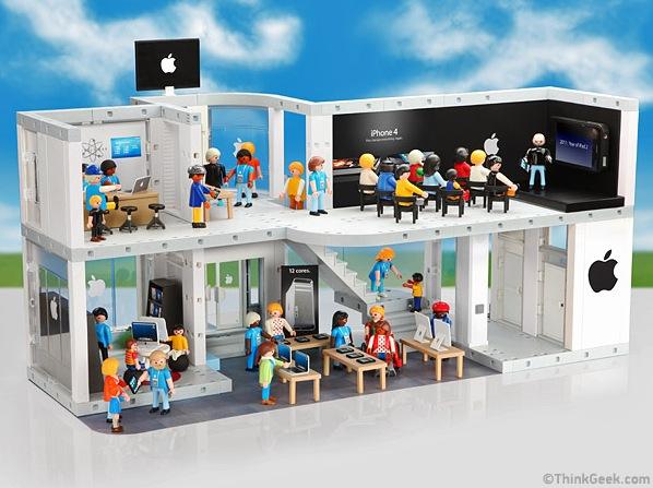 Der Playmobil Apple Store