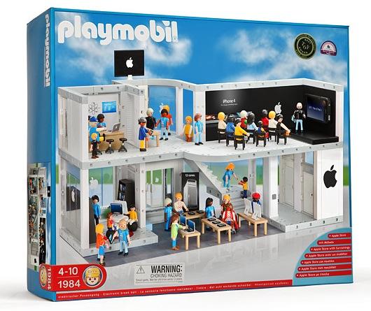 Playmobil Apple Store - Ich würd´s sofort kaufen...