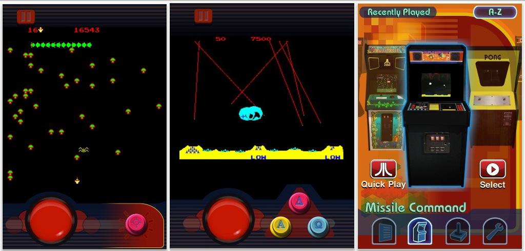 ATARI´s Greatest Hits App mit 100 Spieleklassikern für iPad und iPhone