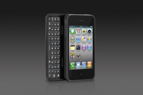 Traum vieler iPhone 4 Besitzer, eine echte Tastatur!