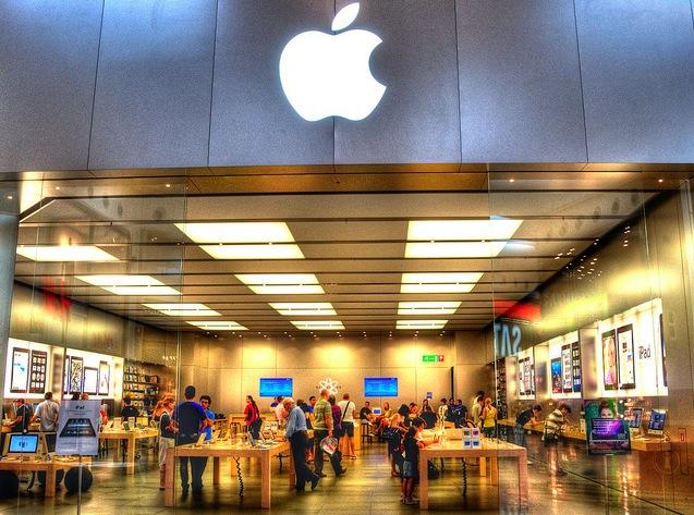 Apple Stores werden im Münsterland gebaut, von Dula!