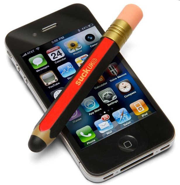 Cooler Retro iPhone & iPad Eingabestift