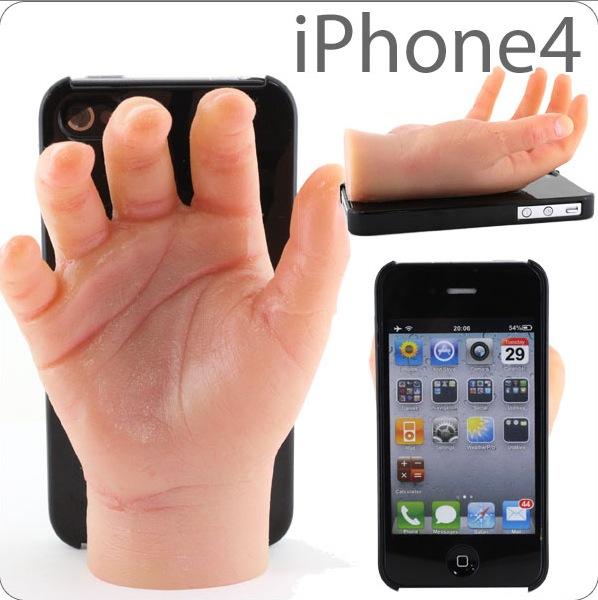 Hand in Hand mit dem iPhone 4 telefonieren...
