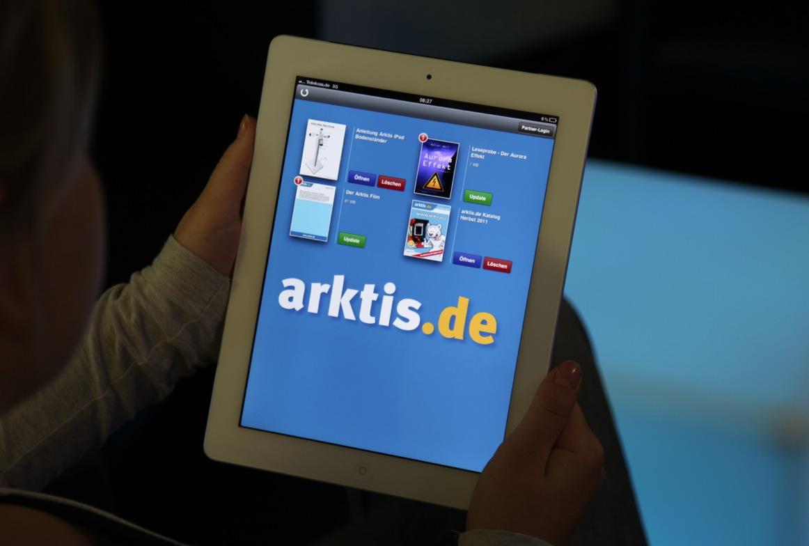 Ab sofort kostenlos erhältlich, die arktis.de App für iPhone und iPad