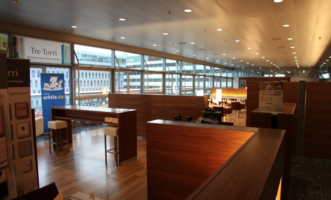 Lecker Essen im iPad Restaurant, powered by arktis.de
