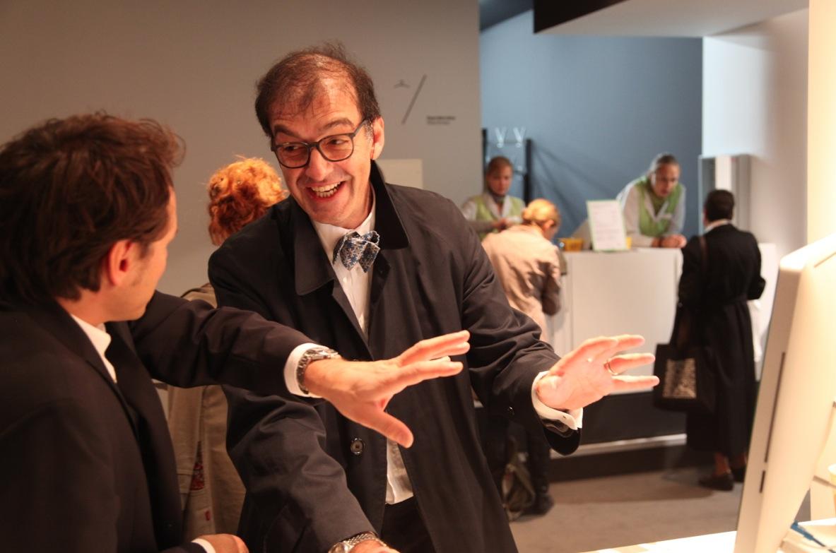 Der Mann hinter Poiesipedia: Dr. Luca Marighetti