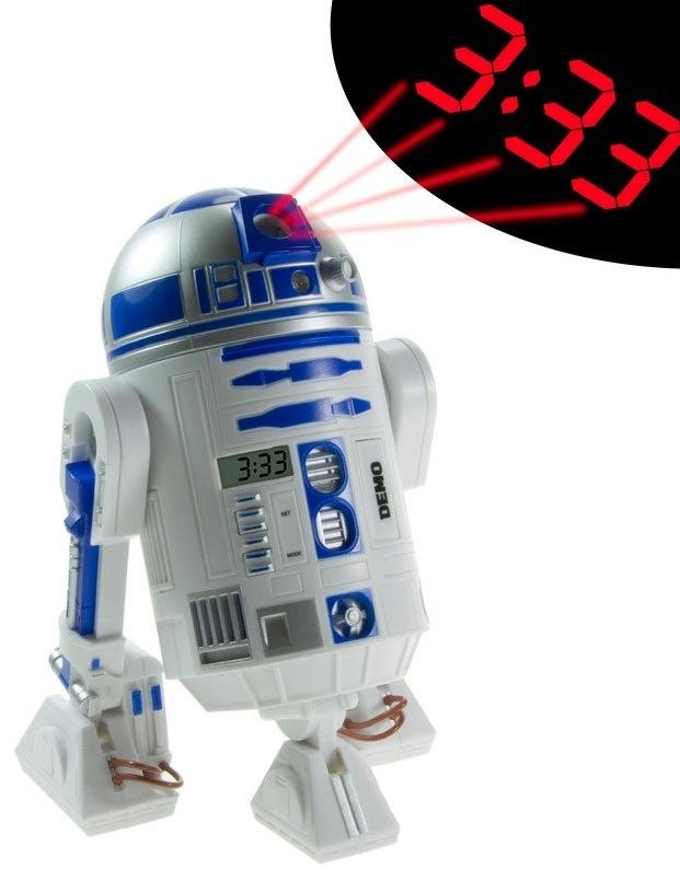 Nur ein Gadgettipp: Der R2D2 Wecker inkl. Uhrzeit Projektion