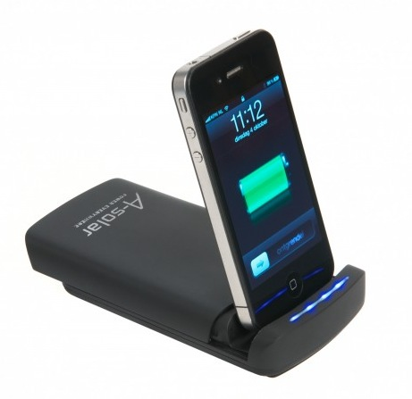 A-Solar Power Dock für iPad & iPhone