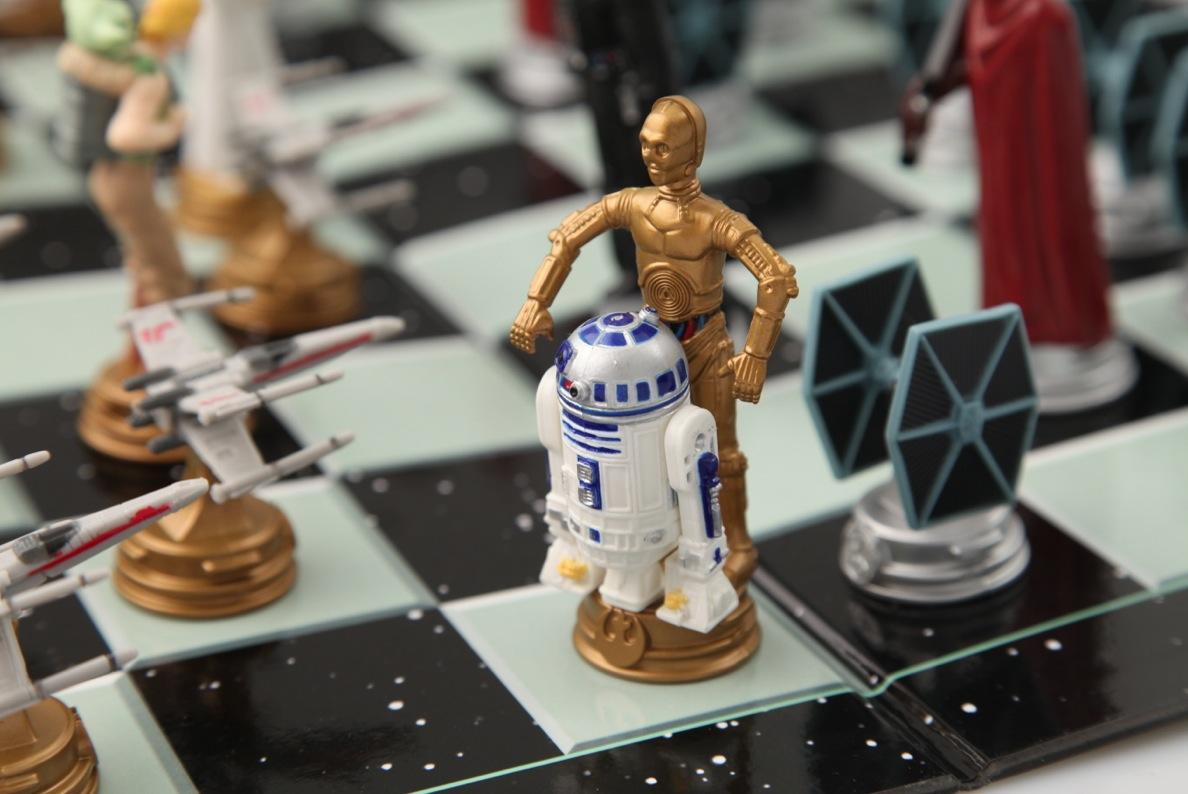Star Wars 3D Schach
