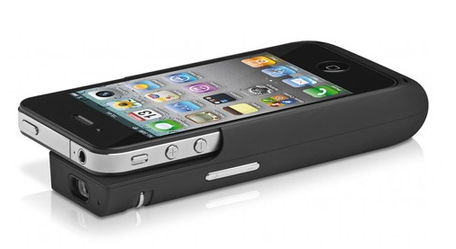 Der iPhone Beamer Lumio von Trekstor i.Gear