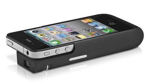 Der iPhone Beamer Lumio von Trekstor i.Gear