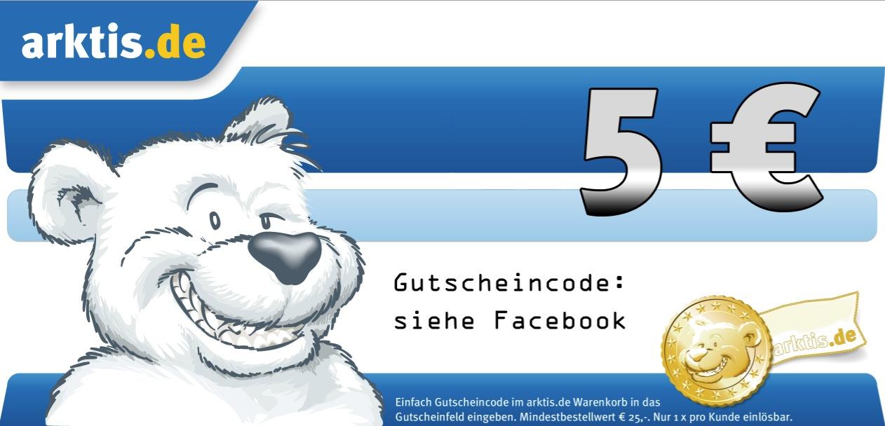 5 Euro Gutschein für arktis.de - nur diese Woche!
