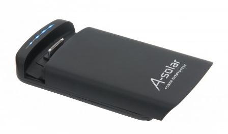 A-Solar PowerDock für das neue iPad, iPhone und iPod touch