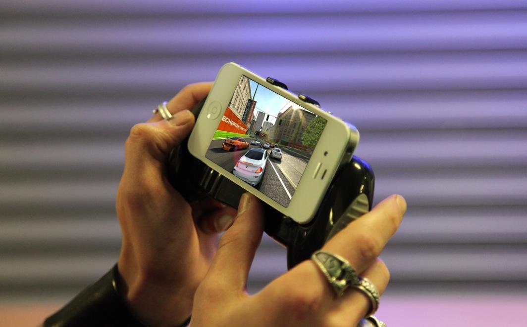 Cooles iPhone Gamepad, neu bei arktis.de