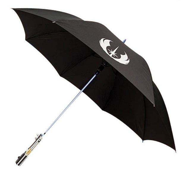 Der Lichtschwert Regenschirm für alle Star Wars Fans ist da!