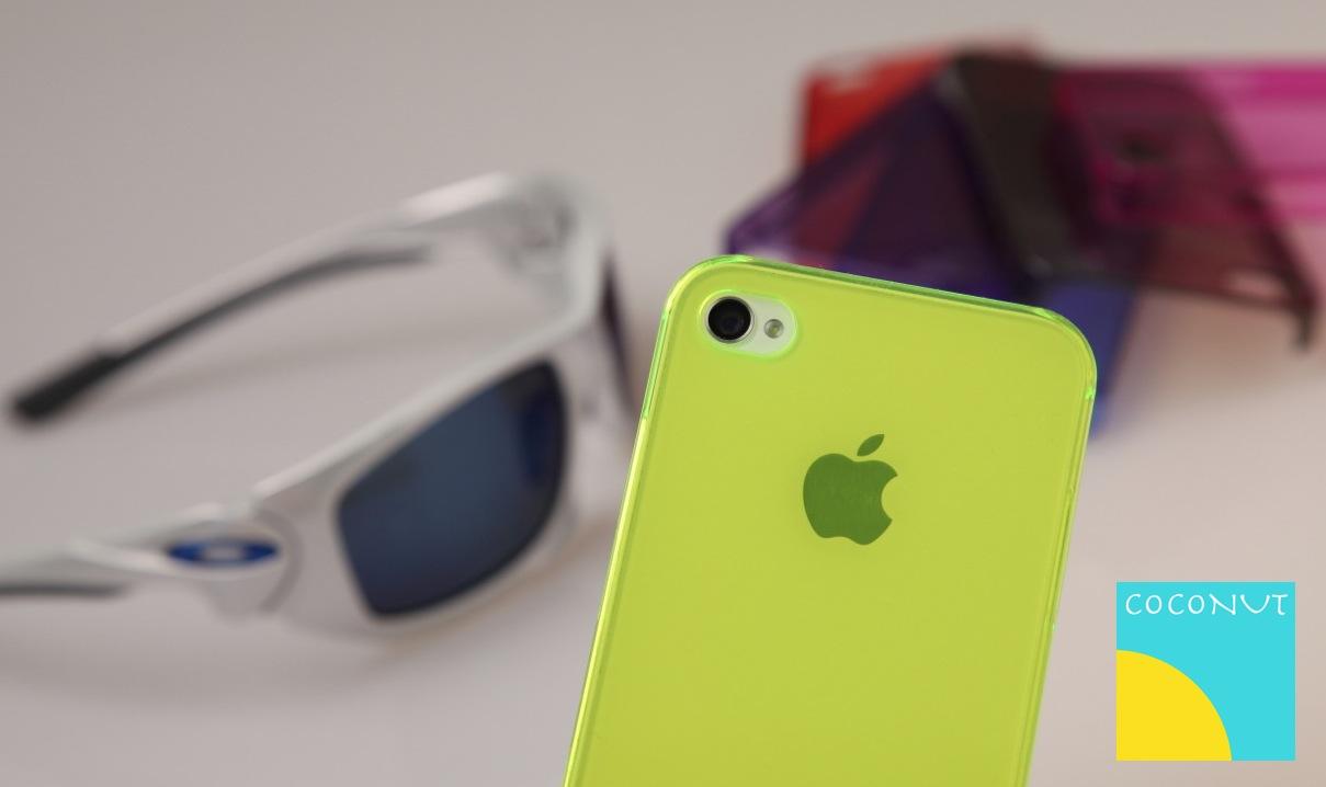 Coconut Cases präsentiert farbige, transparente iPhone Cover