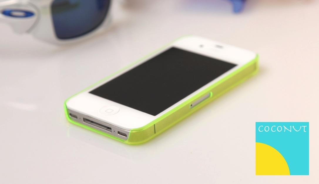 Neongrün harmoniert besonders gut mit dem weißen iPhone