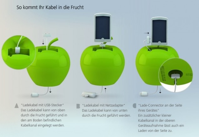 Und so funktioniert die iPhone Dockingstation