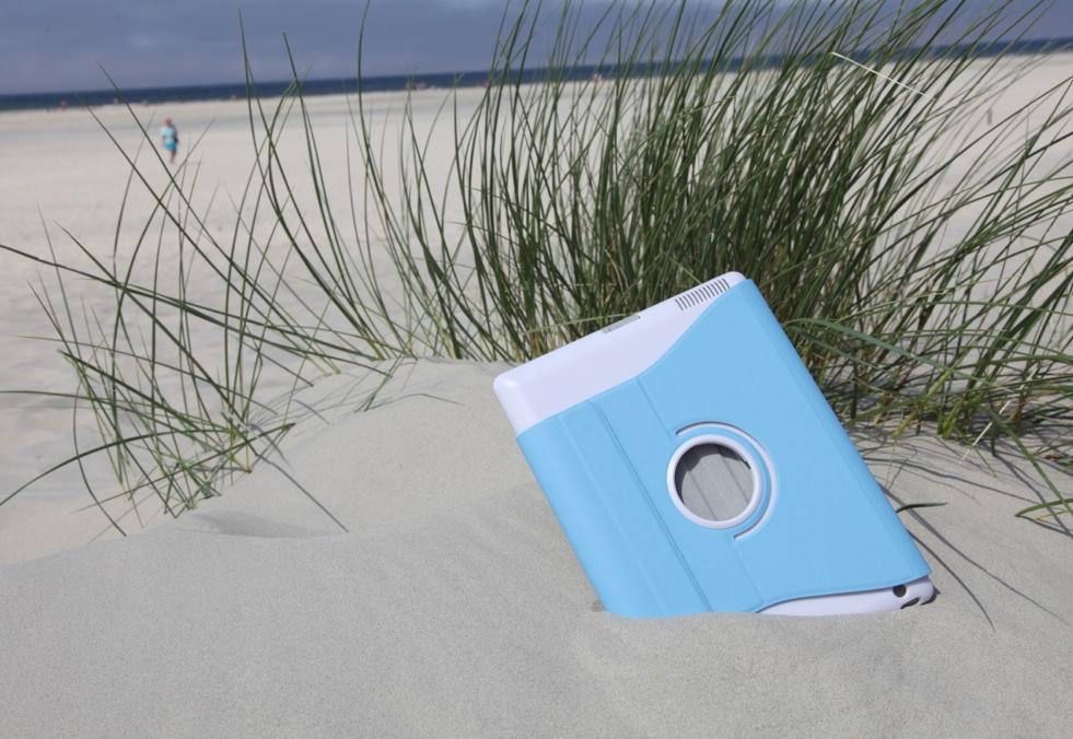 Die iPad Hülle mit dem Strandfeeling...