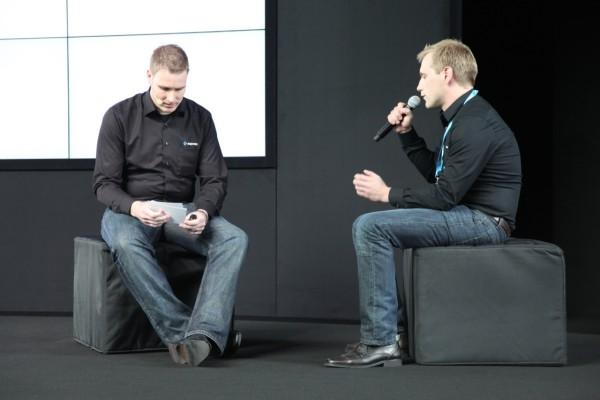Rechts: Unser Mann mit dem alles begann: Stefan Hamann