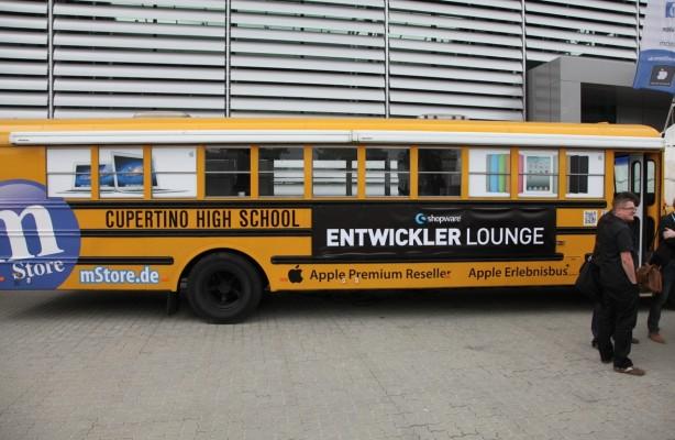 Der Schulbus aus Cuppertino...